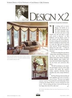 Design x2