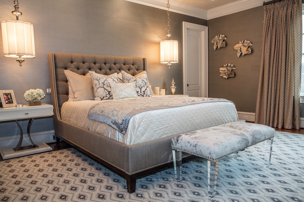 Luxurious soft lighting interior design