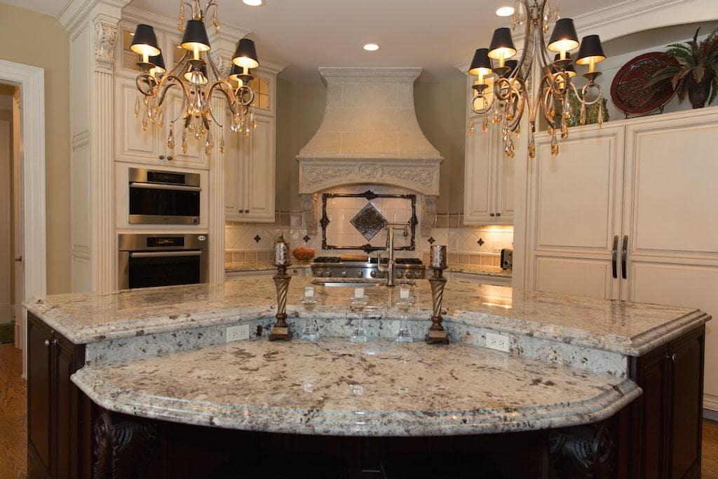 Victorian Kitchen Interior Design in Great Falls VA
