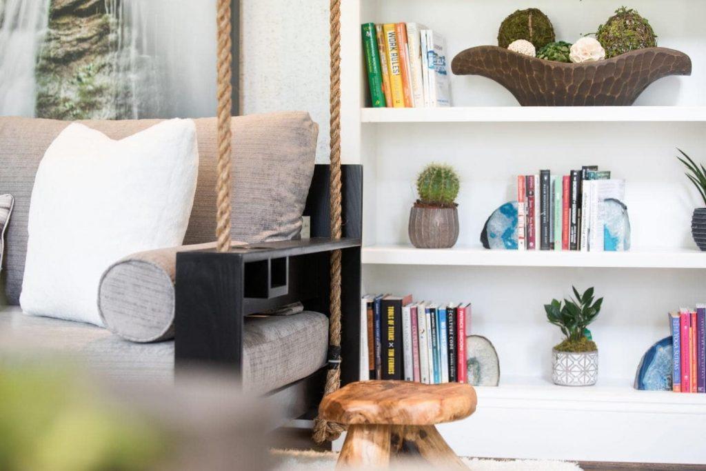 Interior Designed Living Room in Washington DC