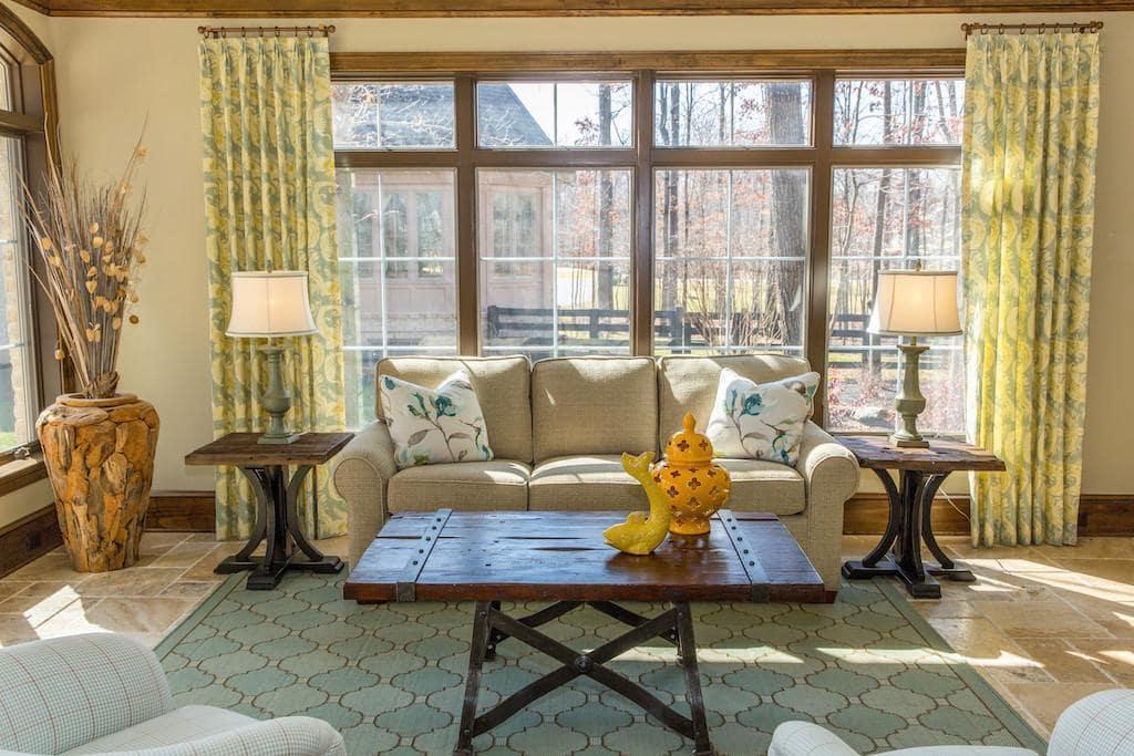 Spring Living Room Interior Design in Washington DC