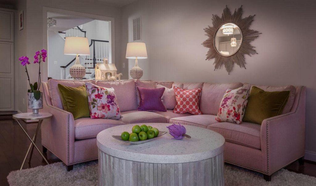 Pink Themed Interior Design in Washington DC