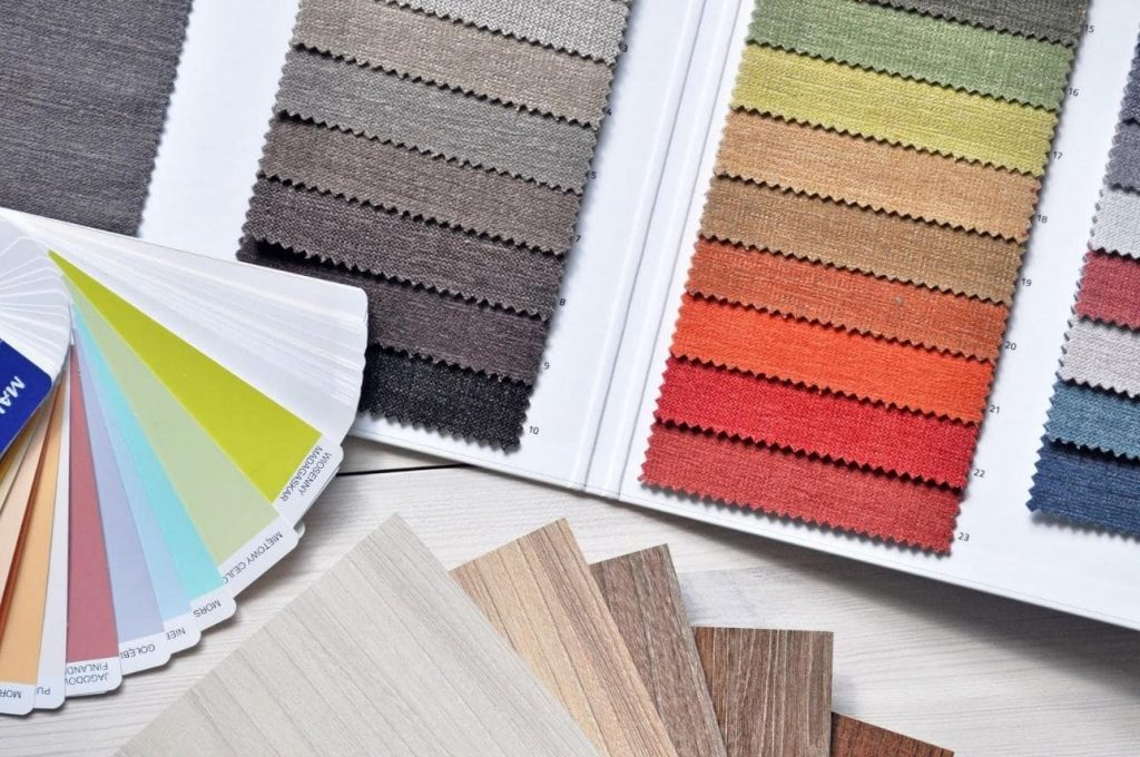 Color Swatches for Interior Design in Great Falls VA